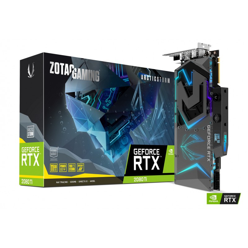 GeForce RTX 2080 Ti ArcticStorm ZT-T20810K-30P